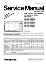 Buy Panasonic NN-S934WFR Service Manual by download Mauritron #268175