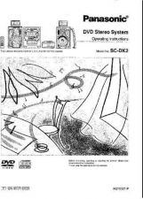 Buy Panasonic SCDK2 Operating Instruction Book by download Mauritron #236445