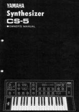 Buy Yamaha CS5E Operating Guide by download Mauritron #247219