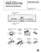 Buy KENWOOD KNA-DV2100 Technical Information by download #118698