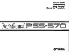 Buy Yamaha PSS570E Operating Guide by download Mauritron #249468