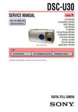 Buy Sony DSC-U50... Service Manual by download Mauritron #240358