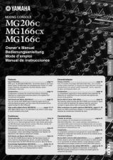 Buy Yamaha MG206C EN OM A0 Operating Guide by download Mauritron #248712