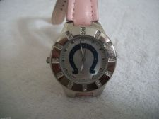 Buy Women's Indianapolis Colts FOOTBALL Watch PINK GAME TIME new battery