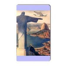 Buy Christ The Redeemer Brazil Rio Travel Tourism Art Vinyl Magnet