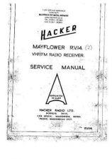 Buy HACKER MAYFLOWER RV14 RX WSM A4074 by download #108412