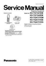 Buy Panasonic KX-TG8301GRB KX-TGA830EXB by download Mauritron #267454