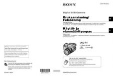 Buy SonyDSCR1sve Service Manual by download Mauritron #246502