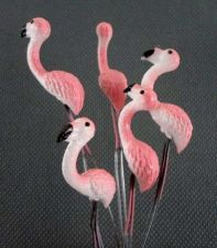 Buy 10 MINIATURES LOVELY BIRD ANIMAL FAIRY COLORFUL GARDEN STAKES TERRARIUM DECOR