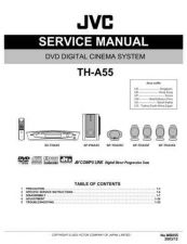 Buy JVC TH-A55 Service Manual Schematic Circuit. by download Mauritron #272475