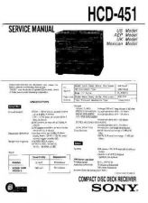 Buy Sony HCD441 Service Manual by download Mauritron #240862