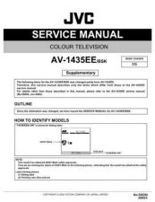 Buy JVC AV-1435EE-BSK Service Manual Schematic Circuit. by download Mauritron #269387
