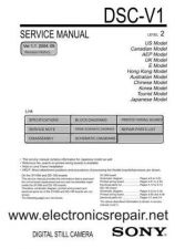 Buy Sony DSR300 Service Manual by download Mauritron #244211