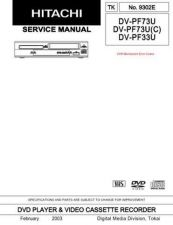 Buy Hitachi TK-9302E-2 Service Manual by download Mauritron #264560