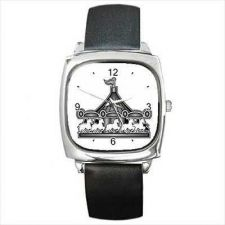 Buy Amusement Park Carousel Merry-Go-Round Wrist Watch NEW