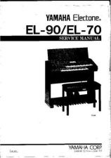 Buy Yamaha EL400 PL E Manual by download Mauritron #256539