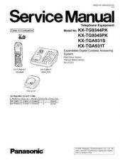 Buy Panasonic tg9344_45pk_71131_0324_final Service Manual by download Mauritron #269118