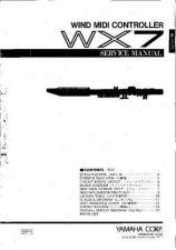 Buy Yamaha WX7 SM C Information Manual by download Mauritron #259884