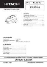 Buy Hitachi CV-90CY BS-2 Service Manual by download Mauritron #261693