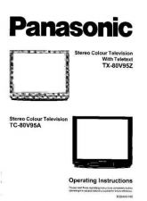 Buy Panasonic TX80V95Z Operating Instruction Book by download Mauritron #236648