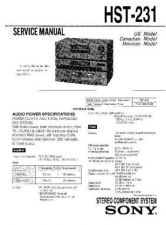 Buy Sony HST-303 Service Manual by download Mauritron #241366