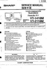 Buy Sharp VT2118M VP1 Technical Information by download Mauritron #233064