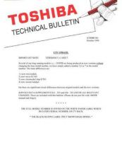Buy TOSHIBA CDHBC50 Technical Information by download #116225