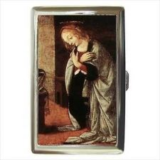 Buy Annunciation To Mary Leonardo Da Vinci Cigarette Money Credit Card Case