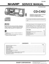 Buy Sharp CDC482 Service Manual by download Mauritron #208518