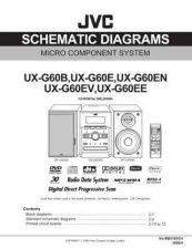 Buy JVC UX-G60EE Service Manual by download Mauritron #272799
