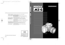 Buy PENTAX MZ6 CAMERA INSTRUCTIONS by download #119072