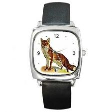 Buy Red Fox Square Unisex Wrist Watch