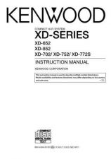 Buy Kenwood XD-751 Operating Guide by download Mauritron #219949