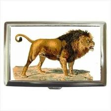 Buy Male Lion Cigarette Money Credit Business Card Case Wallet