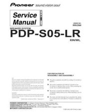 Buy Pioneer PDP-6071PU Manual by download Mauritron #227672