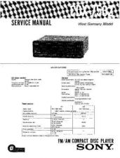 Buy Sony CDX-7560Service Manual by download Mauritron #237553