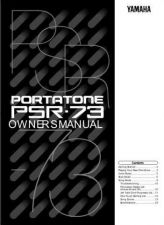 Buy Yamaha PSR73E Operating Guide by download Mauritron #249386