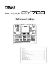 Buy Yamaha QY700E2 Operating Guide by download Mauritron #249558