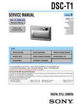 Buy Sony DSC-U10 Service Manual by download Mauritron #240328