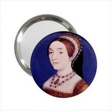 Buy Queen Catherine Howard Art Henry VIII Round Handbag Purse Mirror
