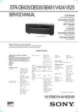 Buy SONY STR-DE915 Technical Info by download #105268