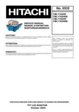 Buy Hitachi No 0532E Manual by download Mauritron #225333
