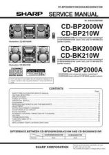Buy Sharp CDBP180W Service Manual by download Mauritron #231102