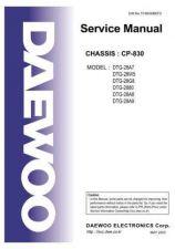Buy Daewoo TCN830BEF0 Manual by download Mauritron #226834