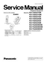 Buy Panasonic KX-TG9311BXT KX-TGA931BXT KX-TGA930BXT by download Mauritron #267500