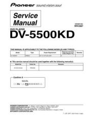 Buy Pioneer DV47AI Service Manual by download Mauritron #234411
