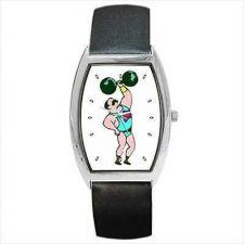 Buy Circus Strongman Muscle Man Weight Lifter Art Wrist Watch