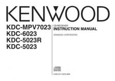 Buy Kenwood KDC-MPV7023 by download Mauritron #222110