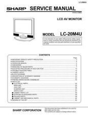 Buy Sharp LC20S1E Service Manual by download Mauritron #209912