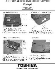 Buy TOSHIBA PORTEGE 7200 by download #109860